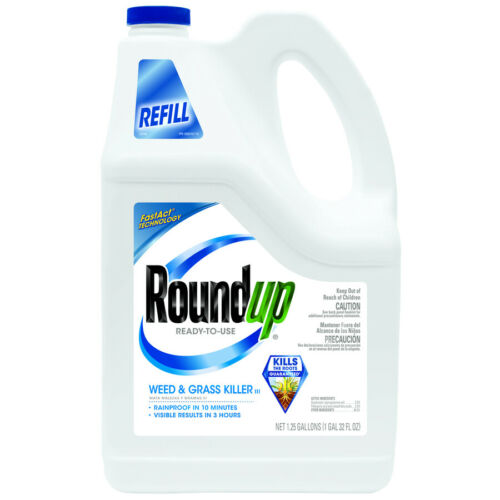 Roundup 1.25Gal Pump N Go Weed and Grass Killer Refill
