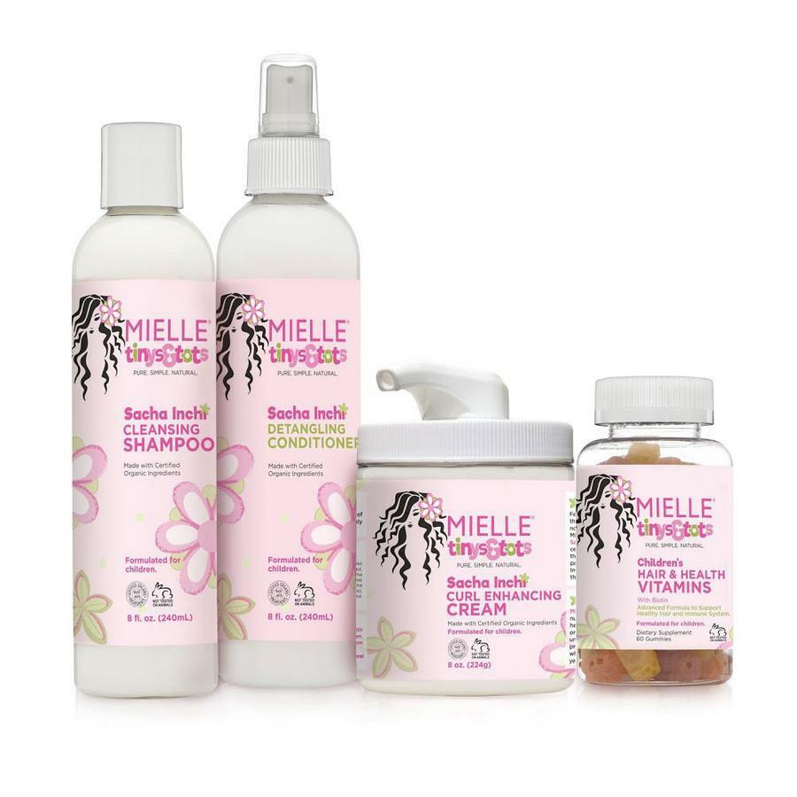 Mielle Tinys & Tots Sacha Inchi Haircare SET 4pcs Health & Beauty