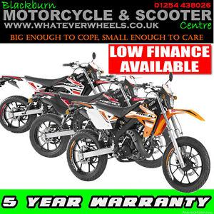 Rieju MRT 50cc Supermoto Road Legal Learner Legal Motorcycle / Motorbike