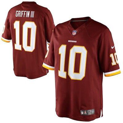 NFL Washington Redskins Griffin III Limited (stitched) Jersey - Mens 40/42
