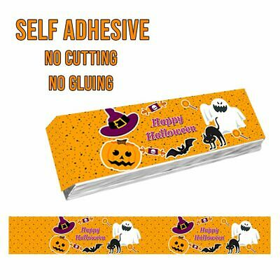 14 X HALLOWEEN KITKAT CHOCOLATE WRAPPER LABELS TRICK - Kit Kat Halloween
