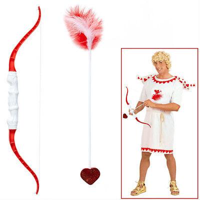 AMOR PFEIL UND BOGEN Set Karneval Liebesgott Liebesbote Valentinstag Kostüm - Kostüm Pfeil Und Bogen Set
