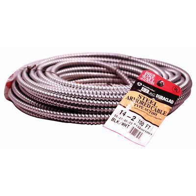 100-ft 142 Multi-residential Buildings Institutional Solid Steel Bx Cable Wire