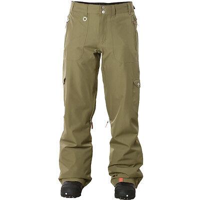 Roxy Golden Track Insulated Snowpants  - Women's Large - Khaki ish Snowboard - Roxy Golden Track
