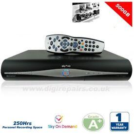 Sky +HD Drx890W-C 500GB Hard Drive Slimline Model