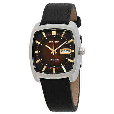 Seiko Recraft Automatic Brown Dial Men's Watch SNKP25 Dial Automatic Leather Watch
