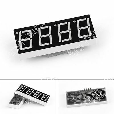 4 Digit 7 Segment Cathode Red Led Display 0.56 Sm420564 For Arduino Pi Us