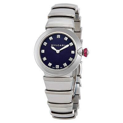 Bvlgari Lvcea Blue Dial Ladies Watch 102568