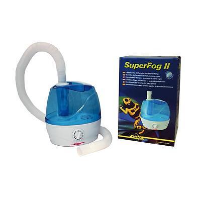 Lucky Reptile Super Fog II Terrarium Luftbefeuchter - Nebler für Reptilien