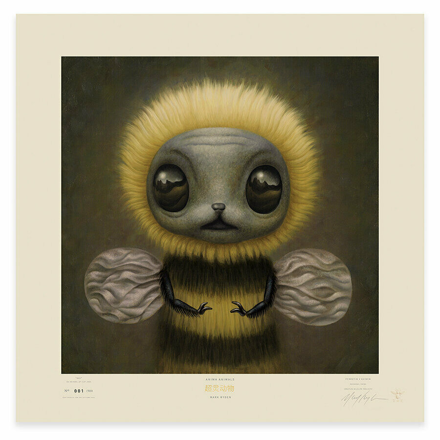 Mark Ryden Bee Lithographic Poster Porterhouse Signed 257/500 - $775.00