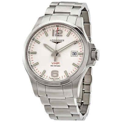 Longines Conquest V.H.P. Quartz Silver Dial Men's Watch L3.726.4.76.6