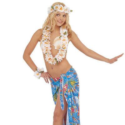 üten Kette Kopfband Armband Karibik Südsee Kostüm Party 2767 (Party Leis)