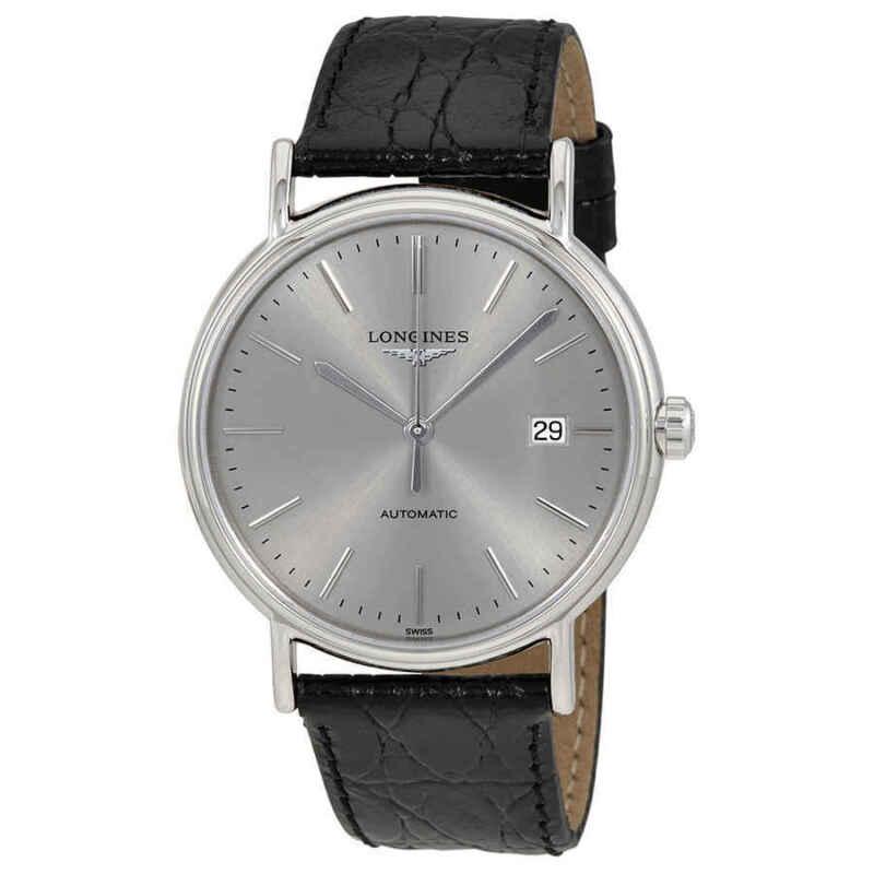 Longines-Presence-Automatic-Silver-Dial-Men-Watch-L49214722