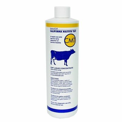 Cmt Mastitis Solution Concentrate 1 Pint Dairy Cattle California Mastitis Test
