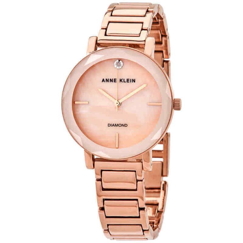 Anne Klein MOP Dial Ladies Watch AK/3278PMRG
