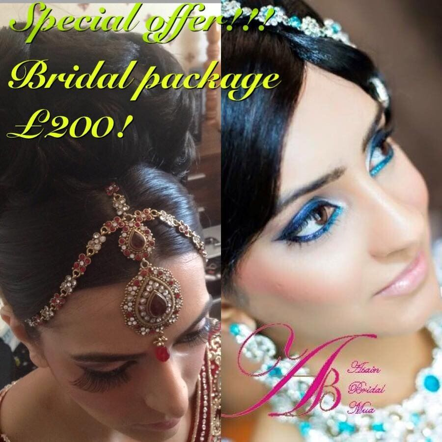 Birmingham Asian Bridal Makeup & Hair £200! Special Offer/ Birmingham Makeup Artist. Bridal Makeup