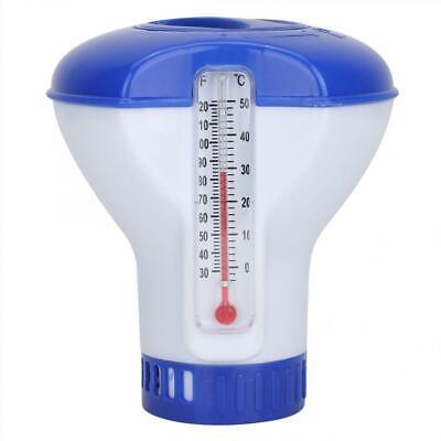 Piscina Dosificador para Pastilla de Cloro con Termometro Mini Flotante Flotador