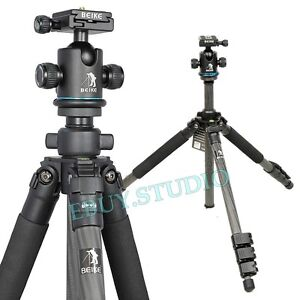 Brand-Carbon-Fiber-Digital-Camera-SLR-DSLR-Travel-Tripod-Ball-Head-Light-Weight