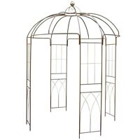 Rose Pavilion Metal 270 Cm Height Growth Support Garden Pavillon - 1a sales agency - ebay.co.uk
