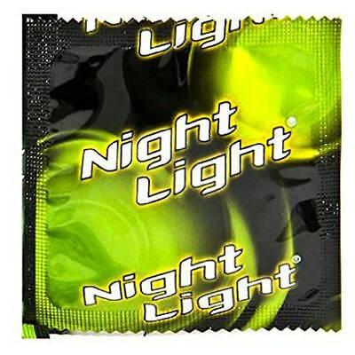 Glow In Dark Lights (Night Light Glow in the Dark Condoms - Choose Pack)