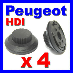 PEUGEOT-HDI-ENGINE-COVER-CLIPS-DIESEL-206-207-306-307-406-607-Partner-X4