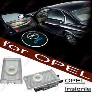 Für Opel Insignia 2x Tür Shadow Licht Einstiegsbeleuchtung LED 3D Logo Projektor