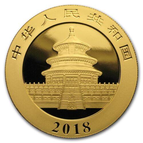 Купить Not Specified - 2018 China 30 gram Gold Panda BU (Sealed) - SKU #159694