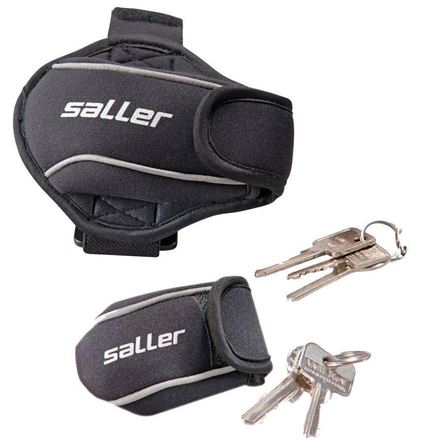 Saller Armtasche Schuhclip   beim Laufen zum aufbewahren von Schlüssel Geld etc.