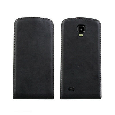Best For Samsung Galaxy S4 Active i9295 Genuine Leather Flip Case Open Up