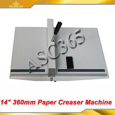 Pro. Manual 14 Paper Scoring Creasing Machine Scorer Creaser Desk Top