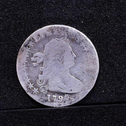 1797 Half Dime - 16 Stars - Good Details (#29086)