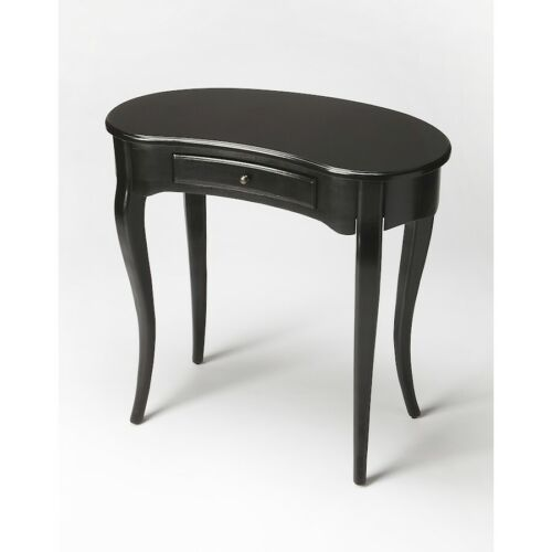 Butler Edgewater Black Licorice Writing Desk, Black - 260111