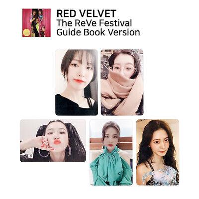 Official Guide Book - RED VELVET - The Reve Festival Day 1 Official Photocard (Guide Book Ver.)