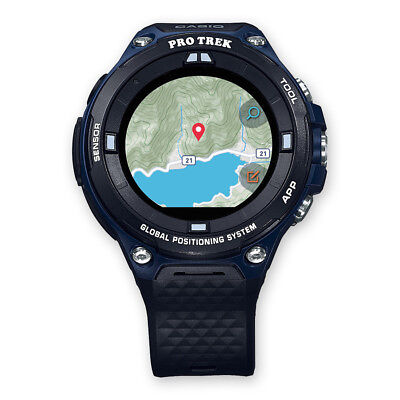 CASIO ProTrek Smartwatch | GPS | 5bar wasserdicht | WSD-F20A-BUAAE