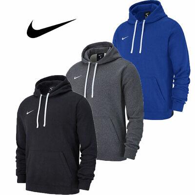Nike Boys Hoodies Junior Team Club 19 Hoody Youth Hooded Sweatshirt Top Hoodie