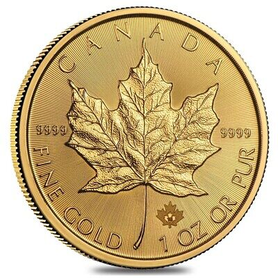 Sale Price - 1 oz Canadian Gold Maple Leaf $50 Coin (Random (1 Oz Canadian Gold Maple Leaf Price)