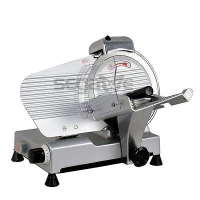 10 Blade Deli Meat Slicer Electric Cutter Safe Operation Efficient For Kitchen