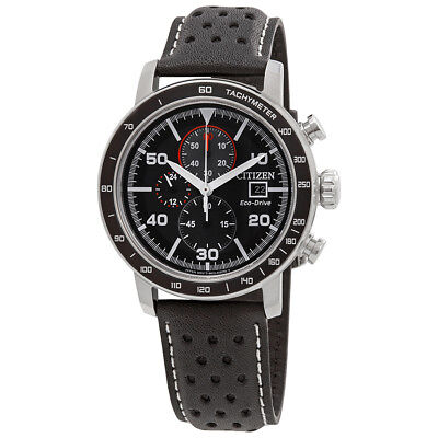 Citizen Brycen Chronograph Black Dial Mens Watch Ca0649 14E
