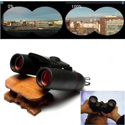 Outdoor Travel 30 x 60 Zoom Folding Day Night Vision Binoculars Telescope Bag RA