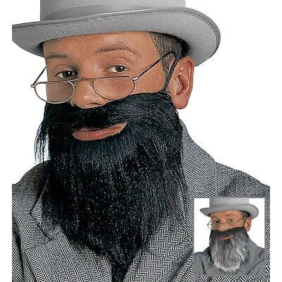 DOKTOR VOLLBART # Karneval Gentleman Professor Zwerg Alter Mann Kostüm Bart 1640 ()