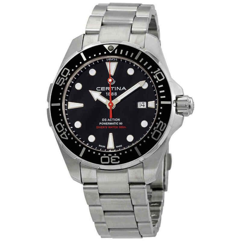 Certina DS Action Diver Automatic Black Dial Men Watch C032.407.11.051.00