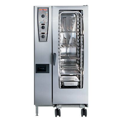 Rational Model 201 A219106.43.202 Electric Combi Oven With Twenty Half Size She