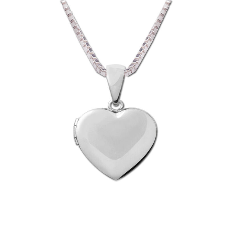 Classic Heart Locket Necklace--Valentine