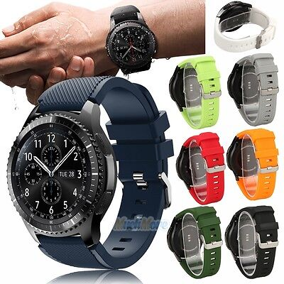 Silicone Watch Band Sport Strap For Fossil Q Founder Vector Martian Notifier