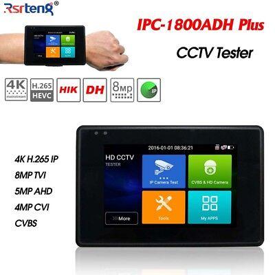 4 Touch H.265 4k Poe Wifi Cctv Camera Tester Ip Cvi Tvi Ahd Ipc-1800adh Plus