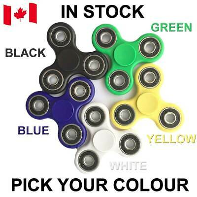 Fidget Spinner EDC Stress Relief Focus Fun Hand Toy Multi Colors Available