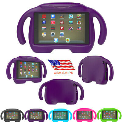 Kids Shockproof EVA Foam Protect Case Stand Cover For Amazon Fire 7 inch