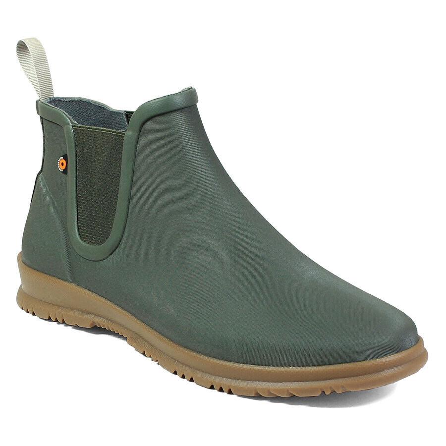 Women's Bogs Sweetpea Lightweight Rain Boots Sage 72198-306