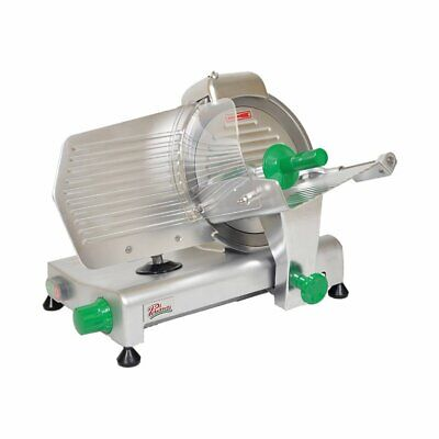 Primo Ps-10 Manual Feed Meat Slicer With 10 Blade Belt Driven