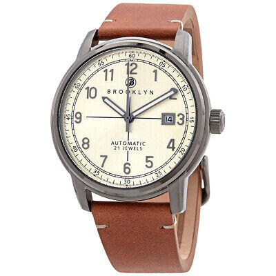 Brooklyn Watch Co. Gowanus Automatic Men's Watch 8600A7